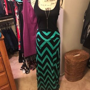 Dresses & Skirts - Chevron Maxi ✨